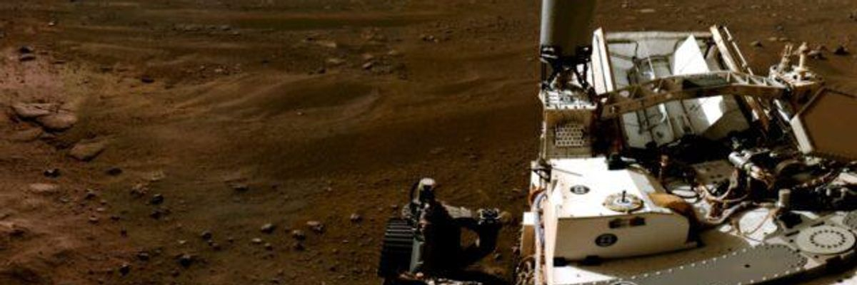 NASA Releases Stunning Video, Audio from Mars