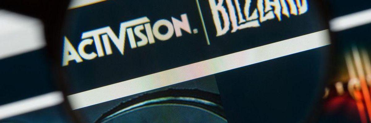 SEC Launches Investigation into Activision Blizzard