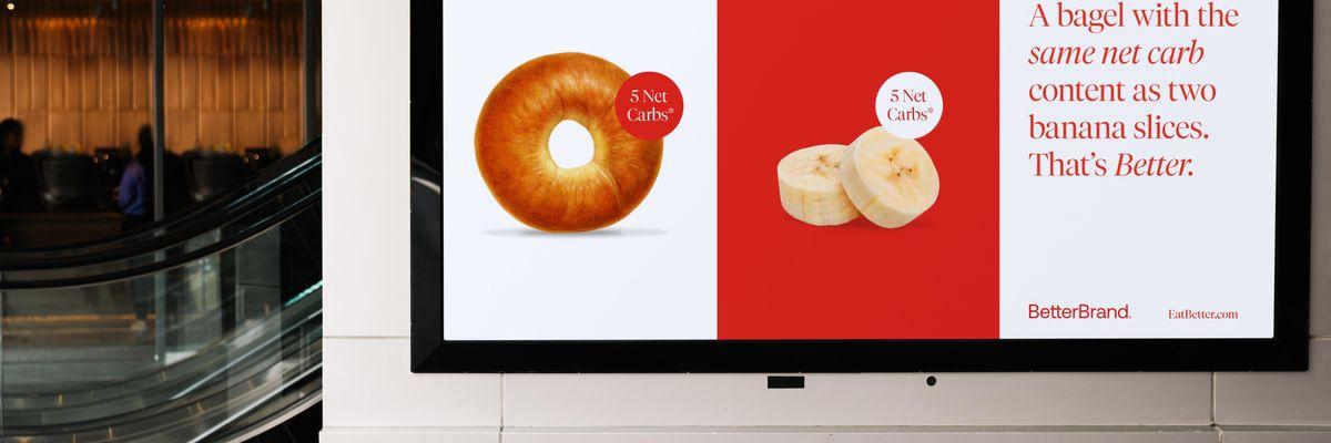 Better Brand Bagel ad