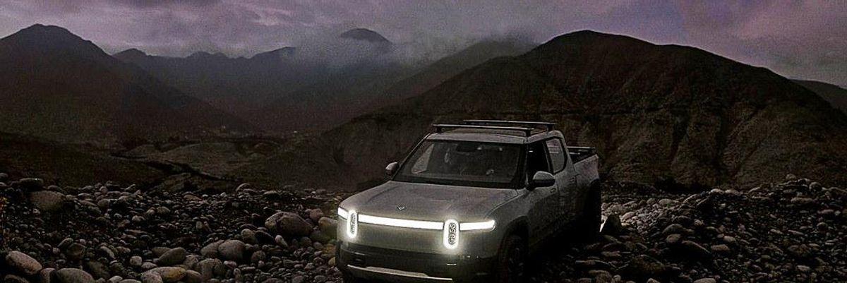 Rivian IPO Filings Show Big Losses as It Debuts Electric Truck