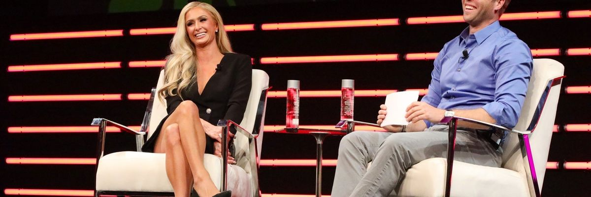'I Tricked You All': Paris Hilton Opens Up at the Upfront Summit