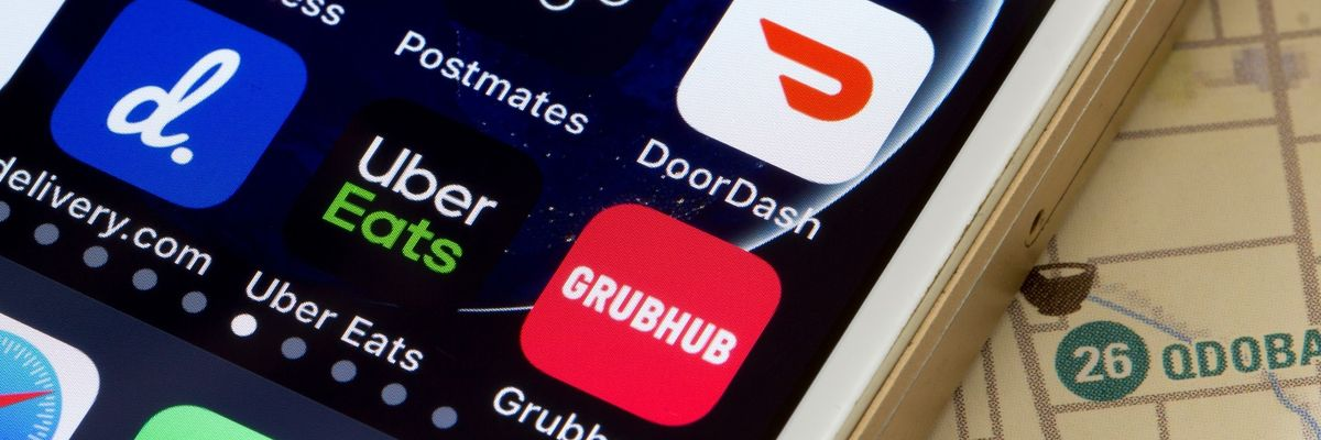 grubhub, uber eats, doordash, postmates
