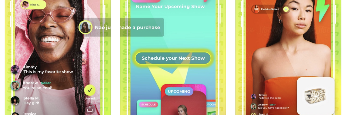 Live Streaming Retail? Popshop Live's Twist on E-Commerce