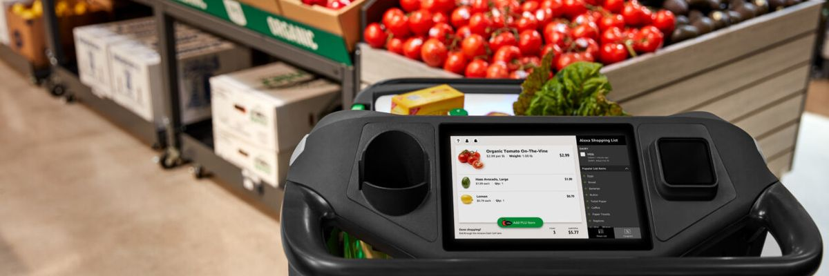 Amazon's New Smart Grocery Cart Will Debut in Woodland Hills