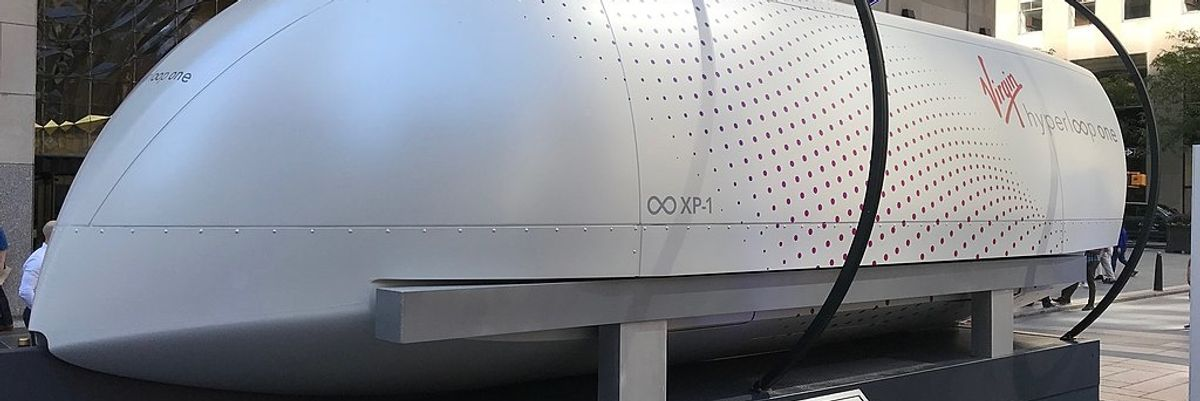 City-to-City Stops in Under an Hour? Hyperloop Technology Just Took a Step Further in the US