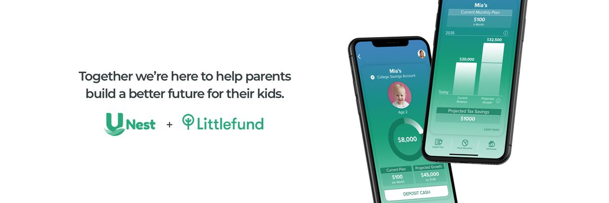College Savings App UNest Buys Littlefund, Doubling Its User Base