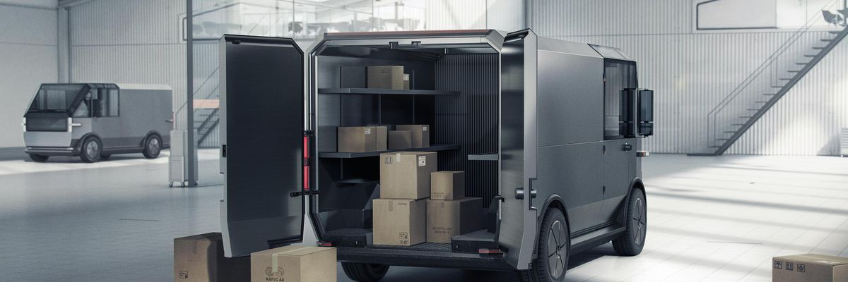 Canoo Unveils Electric Delivery Van a Week Before Going Public