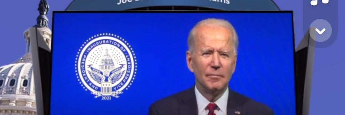 Snap Releases AR Lens for Biden's Inauguration