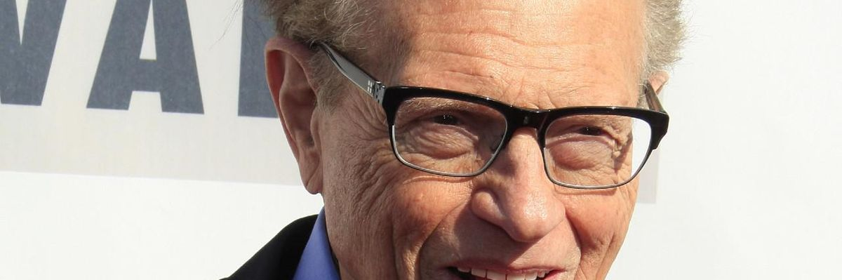 Larry King Spent His Last Year Building a Legacy for Gen Z