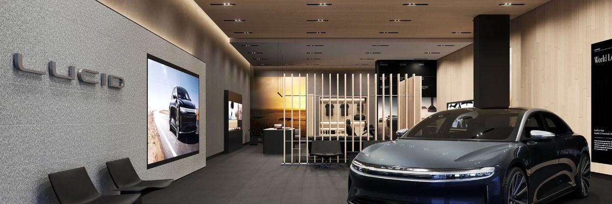 Lucid showroom