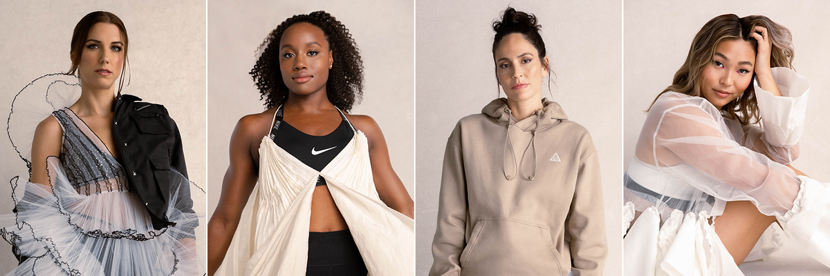 TOGETHXR was founded by Olympic  atheletes Alex Morgan, Chloe Kim, Simone Manuel and Sue Bird.