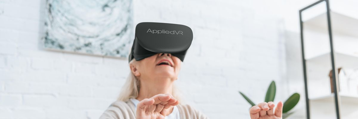 This Startup Made a VR Experience to Reduce Chronic Pain