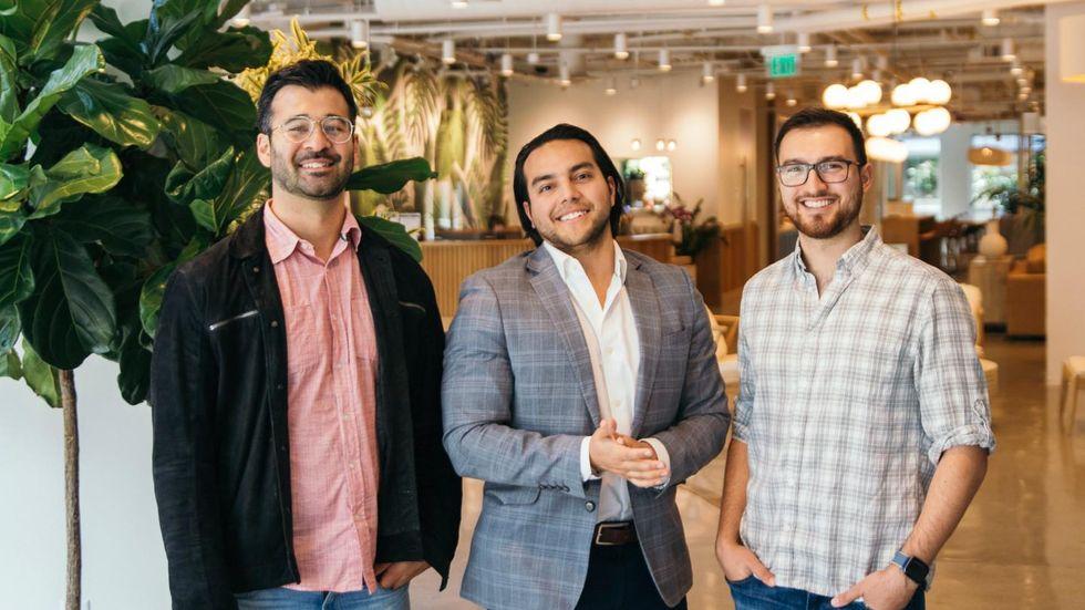 Michael Vilardo, Felix Ruano, and Jon Quiros
