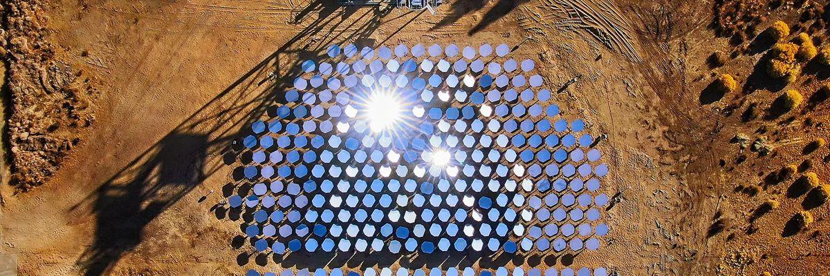 Heliogen's Sunlight Refinery