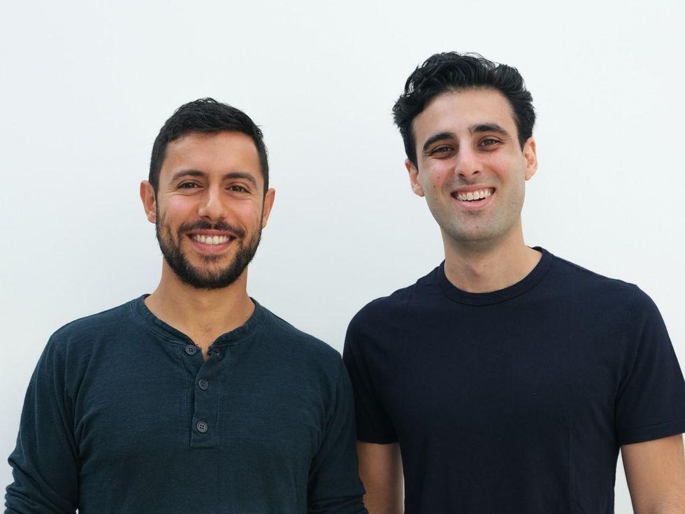 JOON co-founders Jon Shooshani and Sebastian Elghanian.
