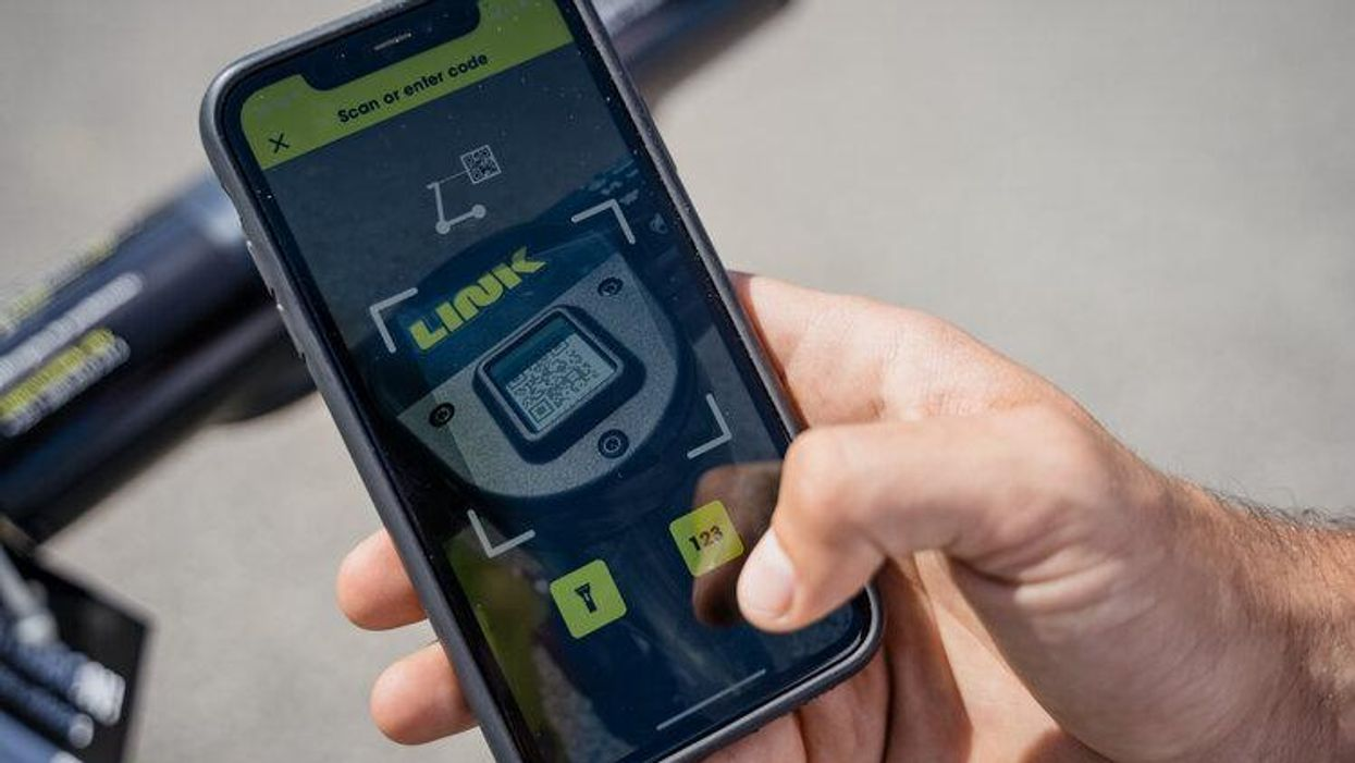 Superpedestrian's LINK app