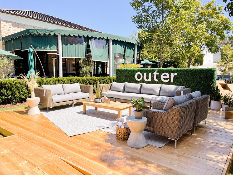 Outer distinguishes itself from competitors like IKEA, Home Depot and Pottery Barn with their high-end eco-friendly designs.