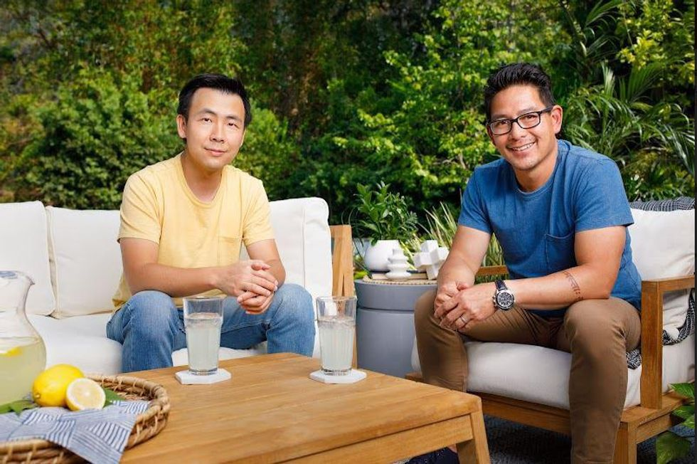 Outer co-founders Jiake Liu (left) and Terry Lin (right).