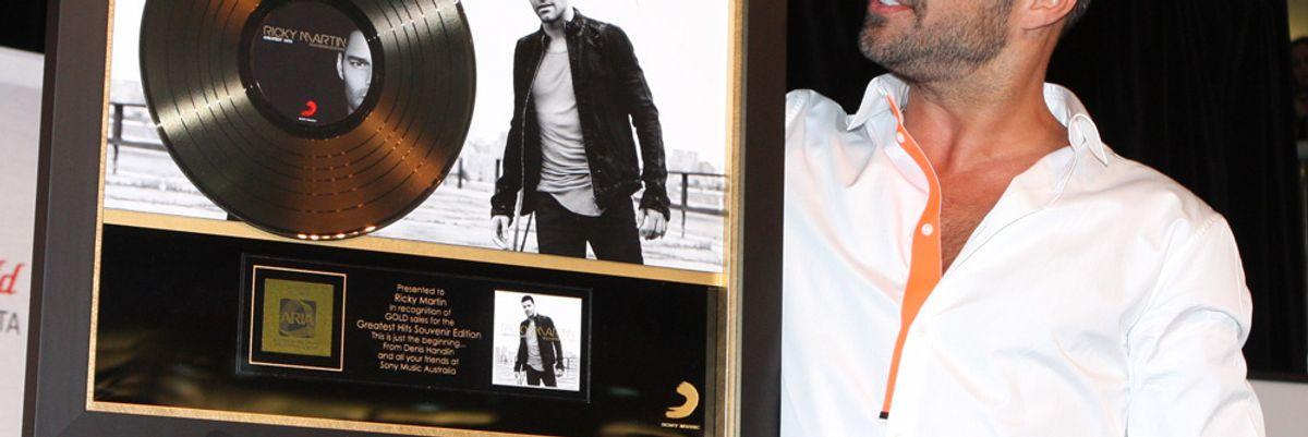 Ricky Martin is Livin' La Vida Startup
