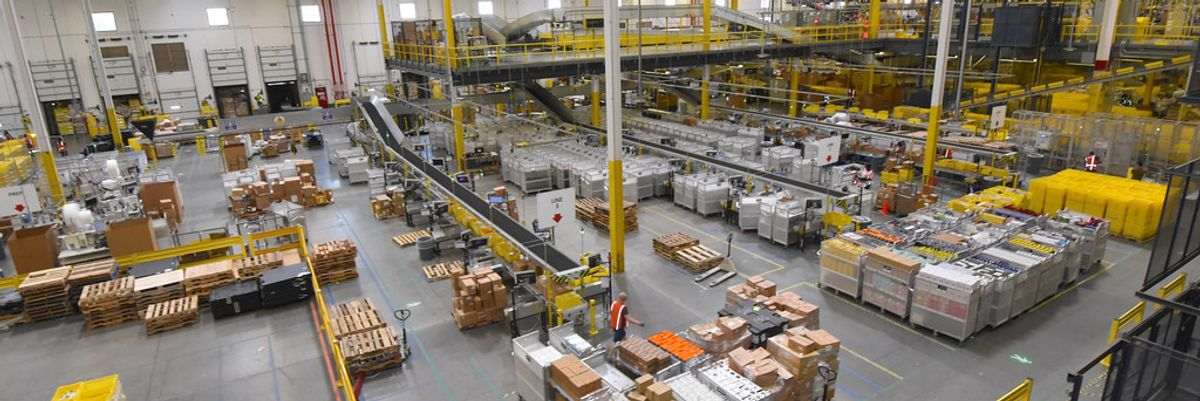 Amazon Warehouse Worker in L.A. Tests Positive, As Company Struggles with Covid-19