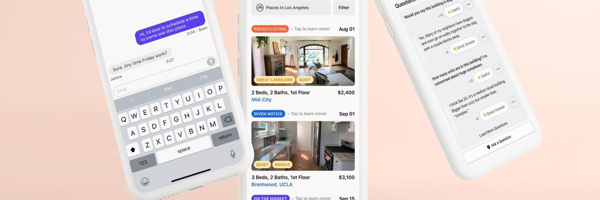 PocketList — A Renters' Guide to Apartments Before They're Listed — Launches in LA