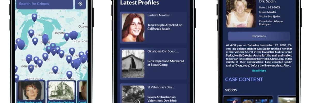This Augmented Reality App Aims to Solve Cold Cases — and Change How True Crime Stories Are Told