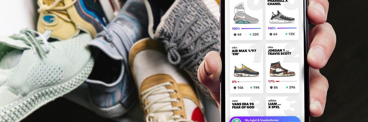 'If It Pops in a Game, It'll Be Manufactured in Reality': Aglet's Virtual Sneaker Game Could Soon Make Sneakers from Players' Designs