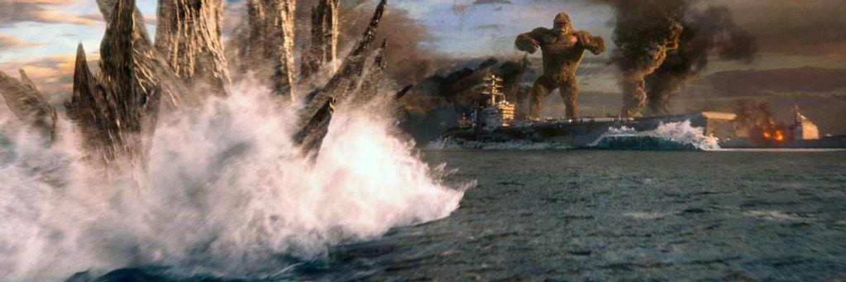 'Godzilla vs Kong' Fills Theater Seats, but Hollywood Still Has Reason to Worry