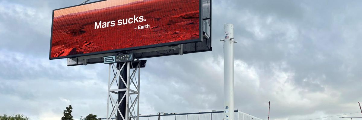 Mars Sucks: Why an LA Ad Agency Trolled Elon Musk on Earth Day