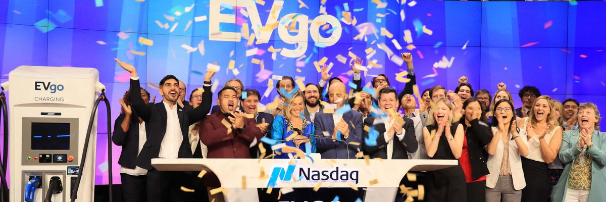 EVgo Makes Its Wall Street Debut as Electric Charging Companies Prepare For Surge