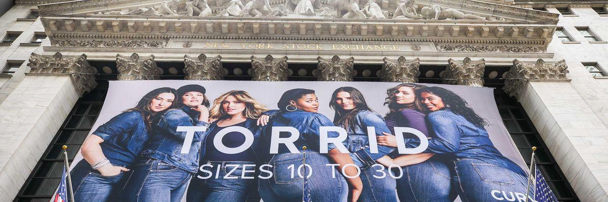 Plus-Size Retailer Torrid Rises In Wall Street Debut