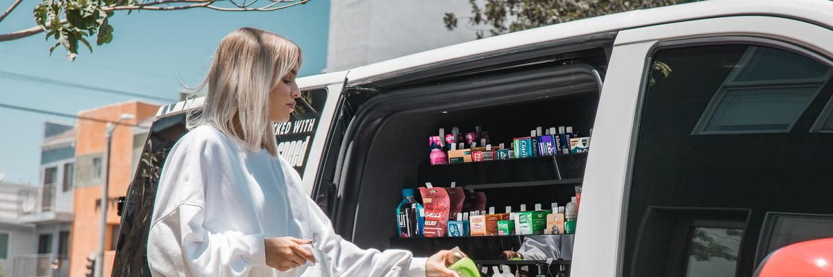 We Tried Robomart's Mobile Pharmacy Shopping App. Here's How It Went.