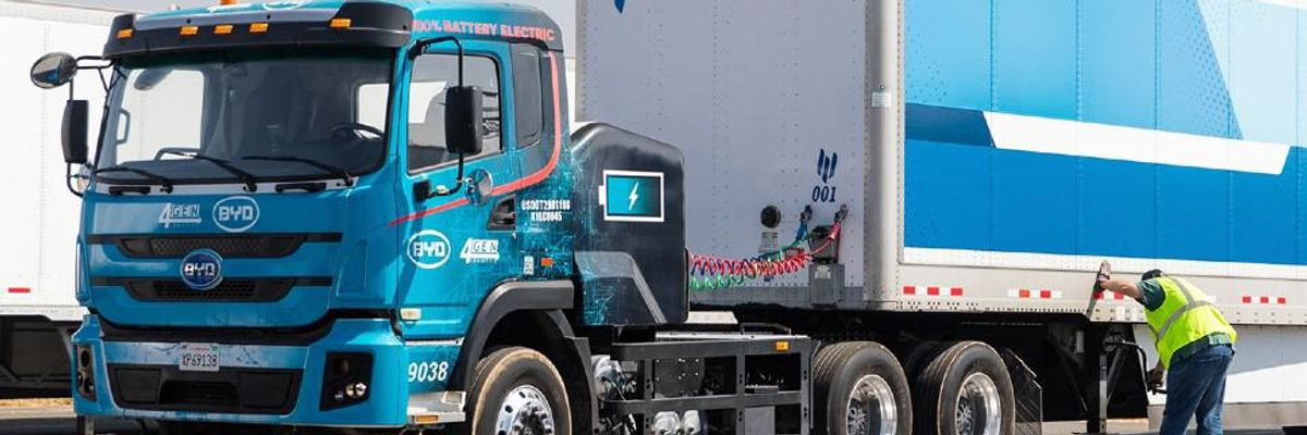 HP Is Piloting an Autonomous, Electric-Powered Trucking Service from LA