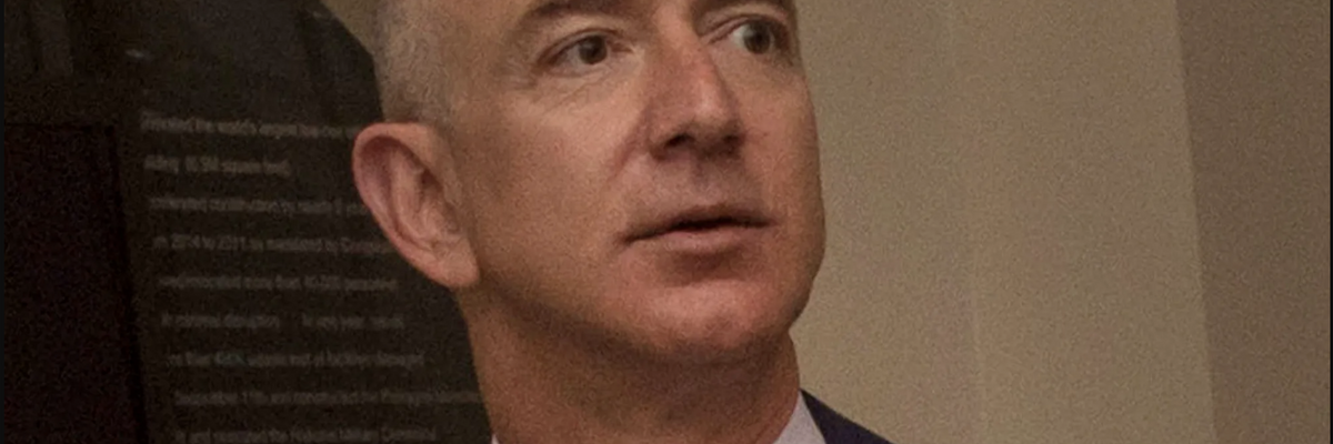Jeff Bezos Says He's Being Extorted in Response to Defamation Suit
