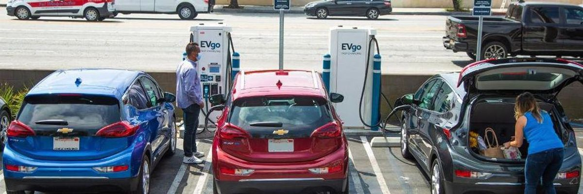 EVgo Introduces New Pricing Plan For EV Charging Stations