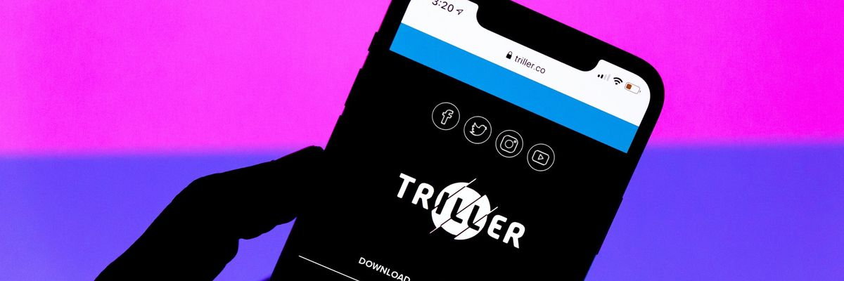 Triller Launches Livestreaming — and a Contest to Go with it