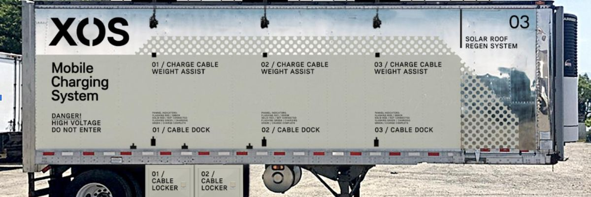 Xos Launches a Mobile Charging Station For Electric Truck Fleets
