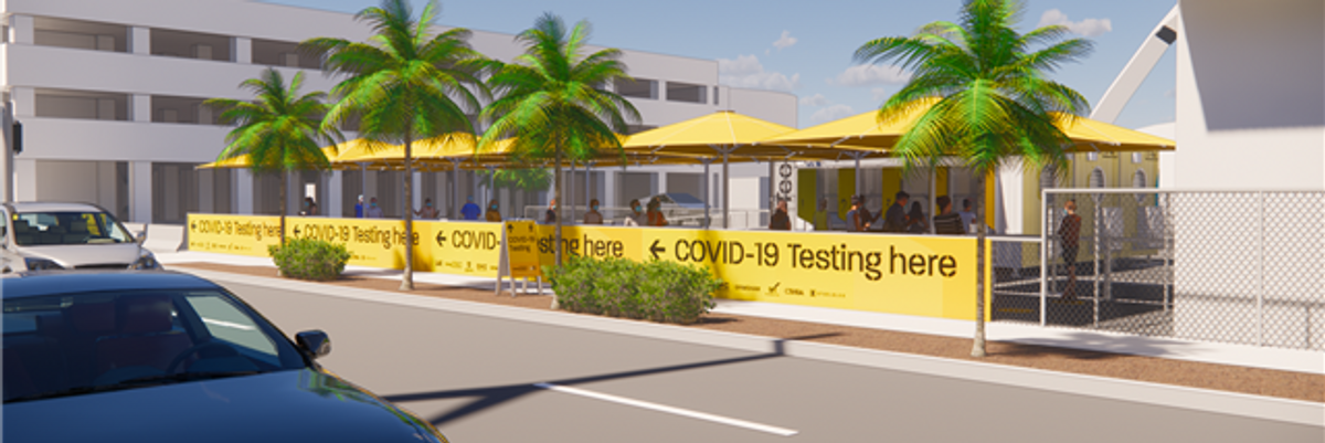 COVID Tests Launch at LAX for $150 a Piece