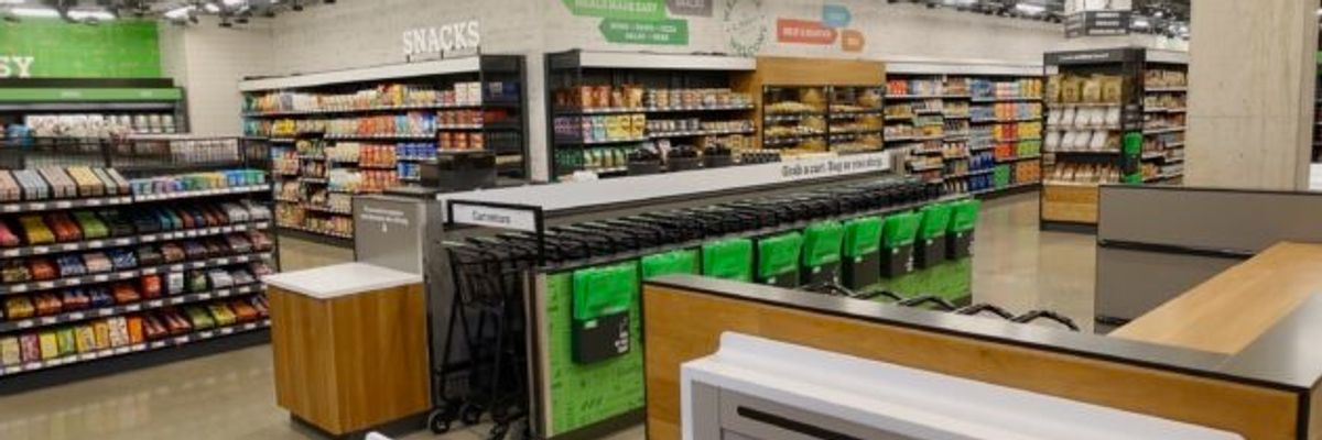 Amazon Unveils Cashier-less Supermarket of the Future — and L.A. Waits in Line