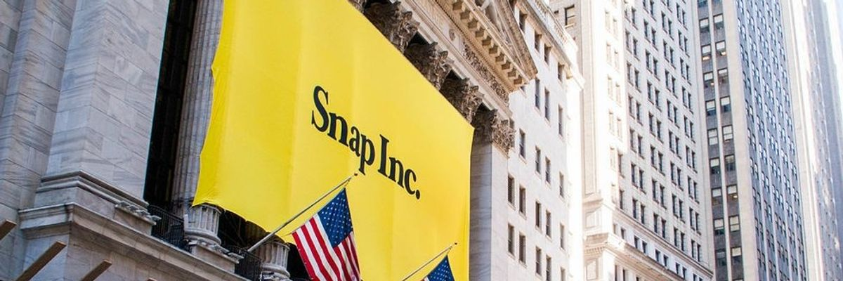 Snap Beats Expectations, Spiegel Chimes in on Facebook and TikTok