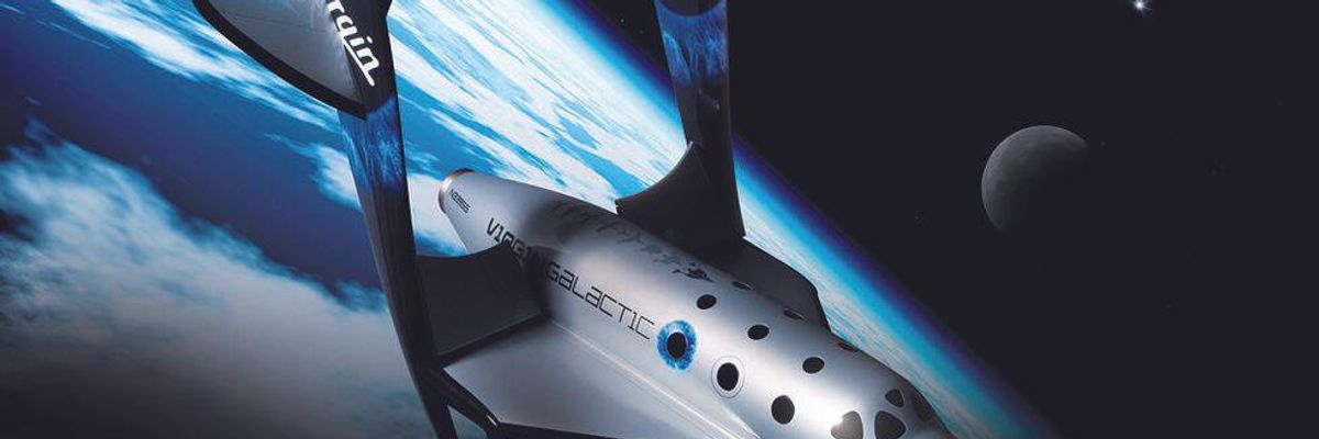 Virgin Galactic's Space Flights Grounded Amid Investigation