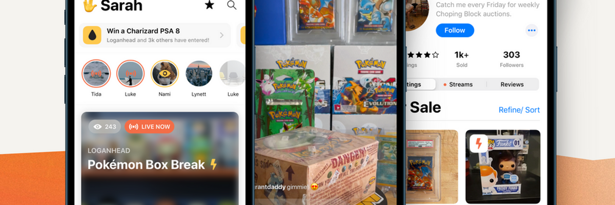 Whatnot is growing up beyond Pokemon Cards and Funko Pops