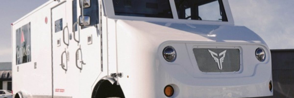 LA's Xos Electric Truck-Maker Will Go Public Through SPAC